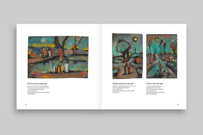 Rouault, monographie du centre Pompidou, page intérieure
