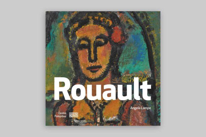 Rouault, monographie du centre Pompidou, couverture
