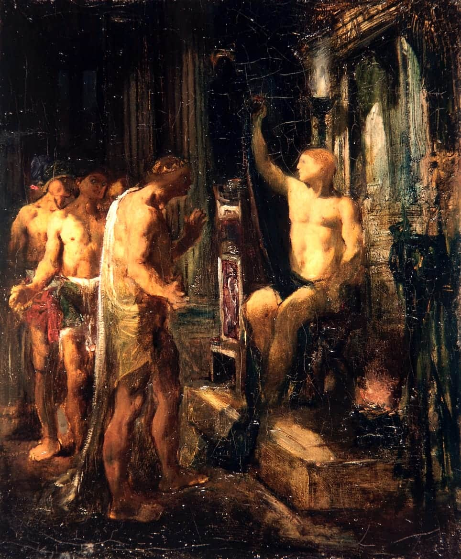 Coriolan dans la maison de Tullius, 1894