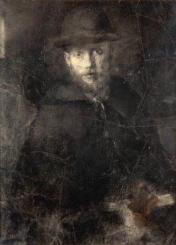 Autoportrait, 1895