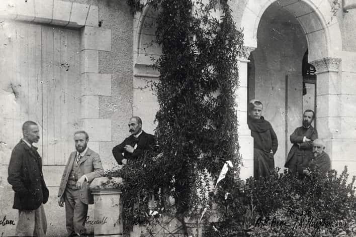 Rouault à l'abbaye bénédictine de Ligugé, 1901