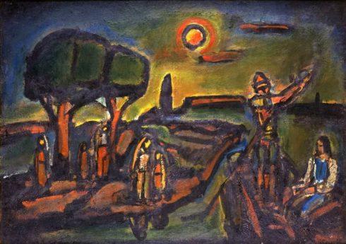 Miserere, Au pays de la soif et de la peur (dit aussi Automne), 1948