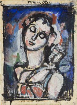 Oiseau Bleu, projet pour Miserere, 1934