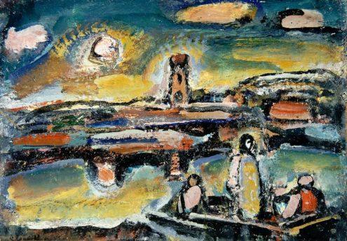 Christ au lac de Tibériade, 1939