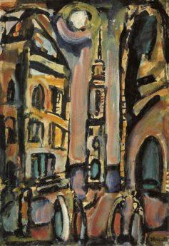 Crépuscule (dit aussi Le Clocher), 1939