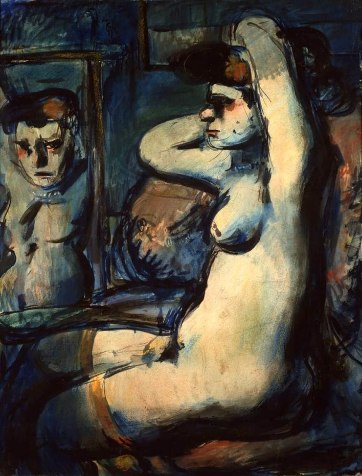 Fille au miroir - 1906