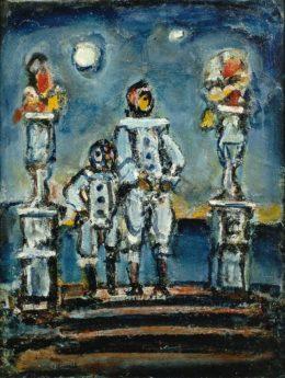 Les Pierrots bleus, vers 1943