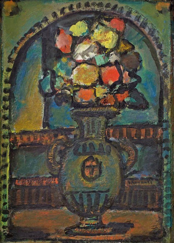 Fleurs décoratives, 1947