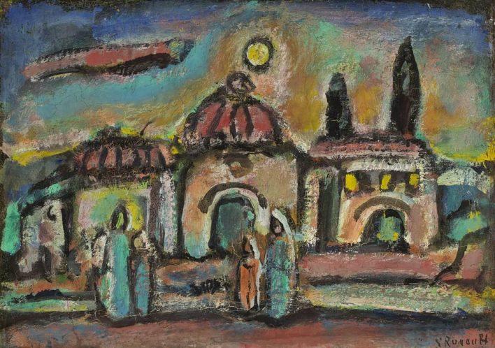 Paysage biblique - vers 1947