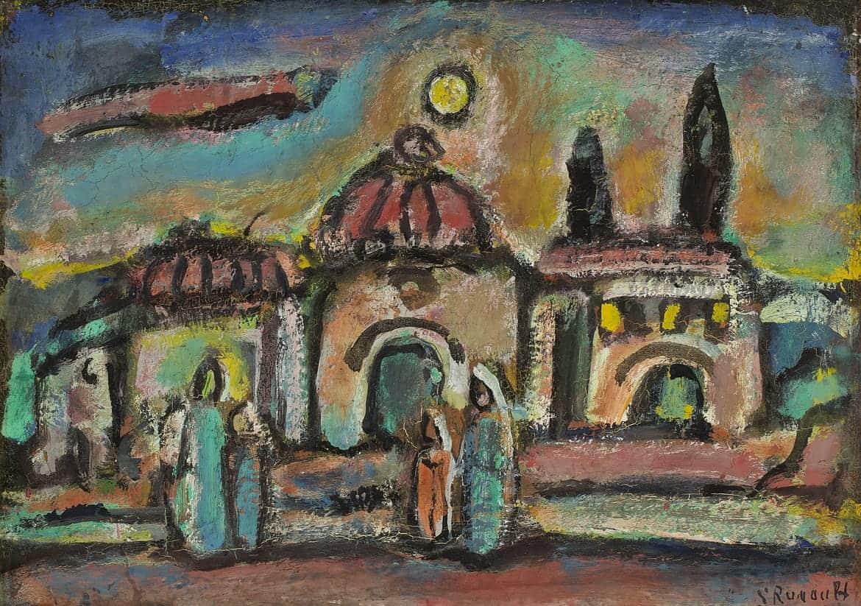 Paysage biblique, vers 1947