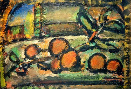 Nature morte aux oranges, 1953