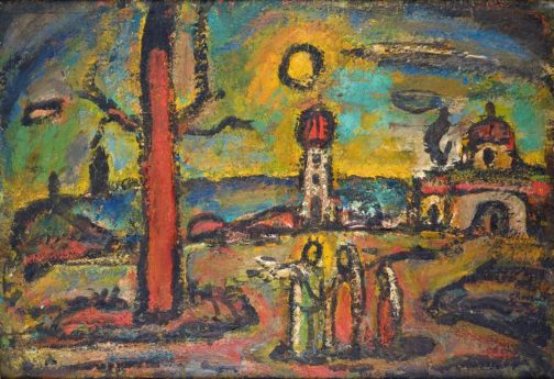 Fin d'automne V, 1952