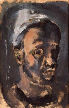 Autoportrait, 1920-1921