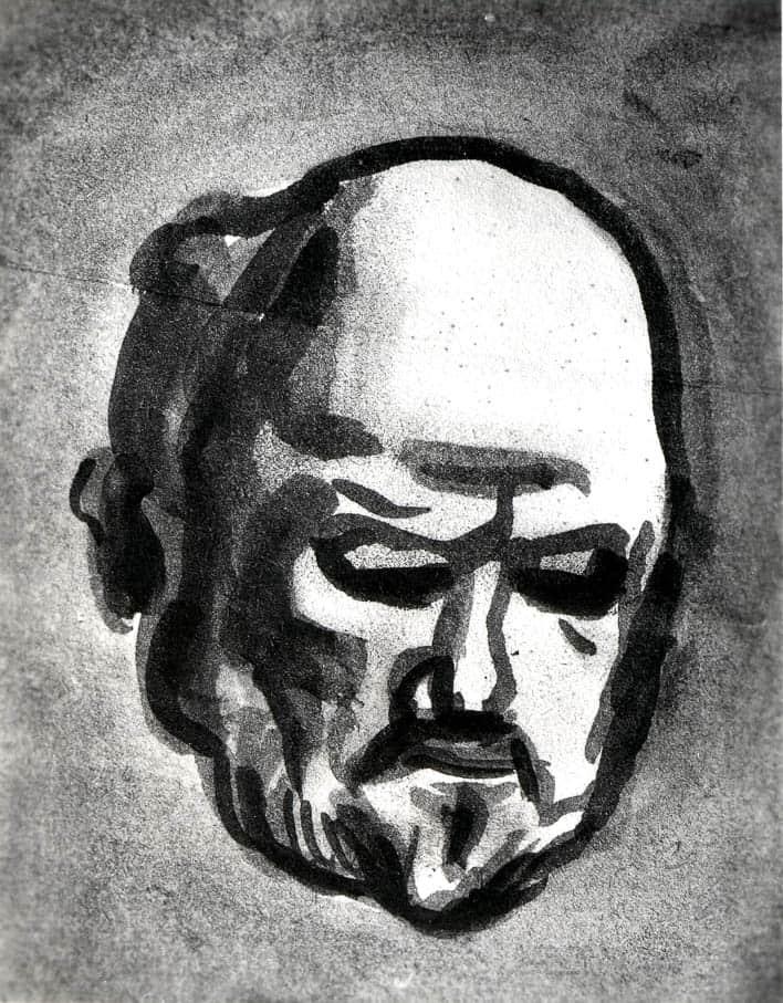 Étude pour le portrait d'Ambroise Vollard