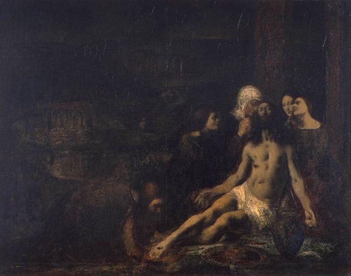Le Christ mort pleuré par les Saintes Femmes, 1895