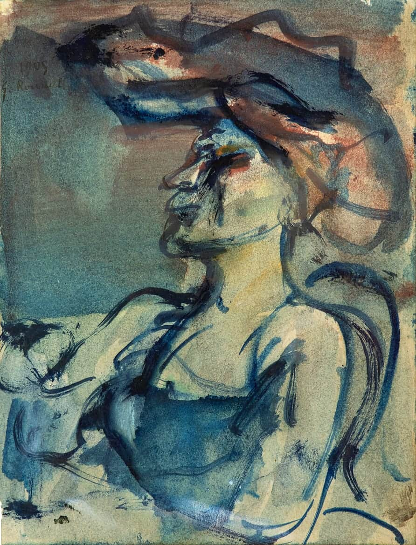 Femme au chapeau, 1905