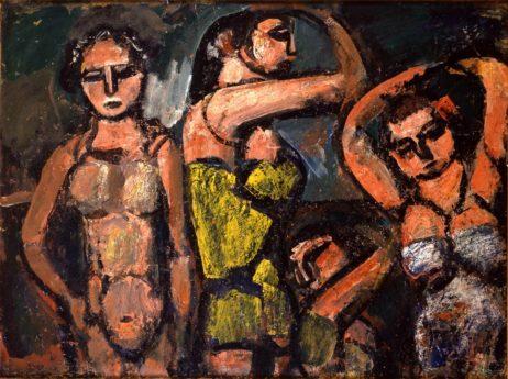 Quatre baigneuses, 1920-1929