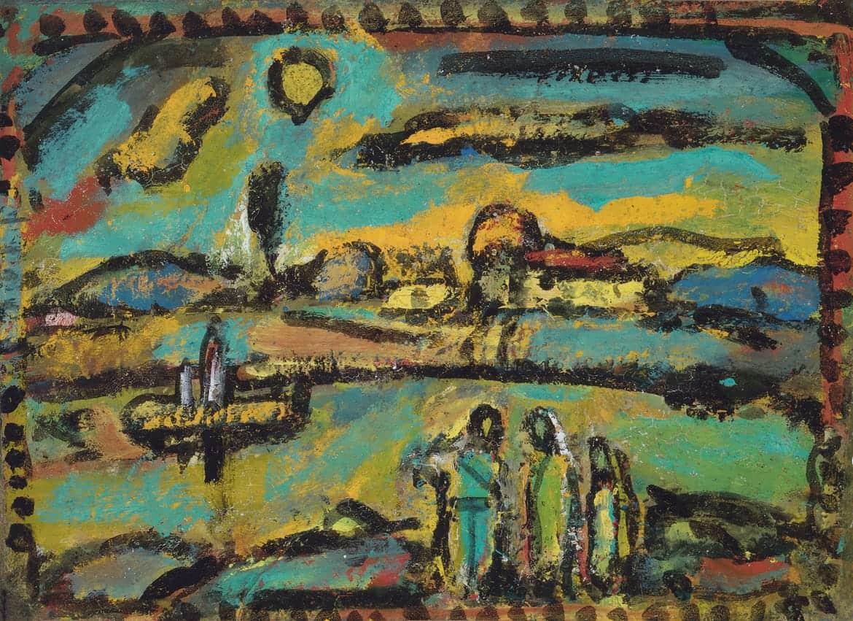 Paysage biblique, 1953