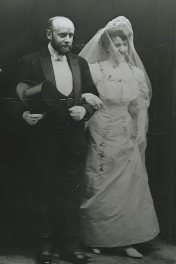 Mariage de Georges Rouault avec Marthe Le Sidaner, 1908