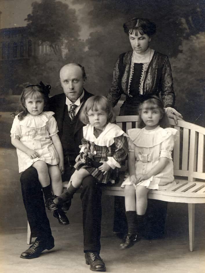 Georges Rouault et sa famille en 1915