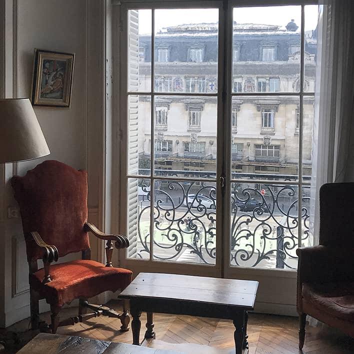 Vue de la Fondation Georges Rouault