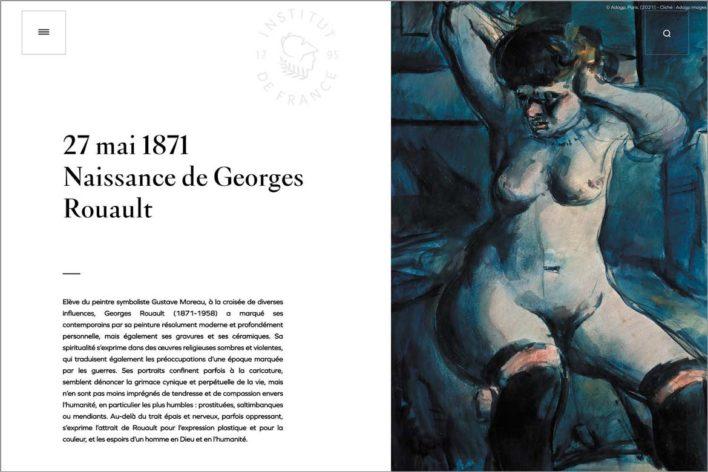 L'Institut de France publie