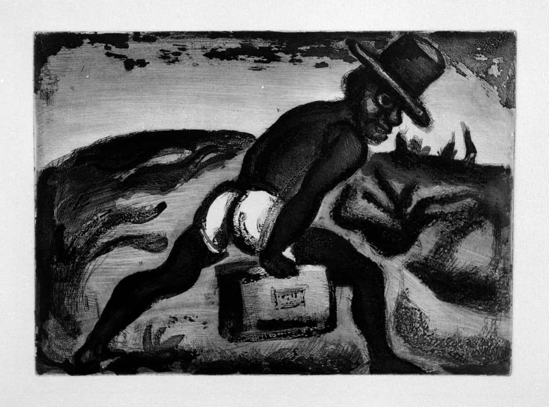 Réincarnations du Père Ubu : Le noir libéré, 1928