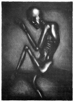 Squelette dansant (à la manière noire), 1934