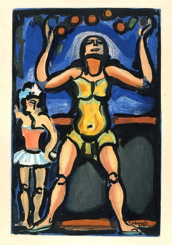 Cirque de l'étoile filante : Le Jongleur, 1934