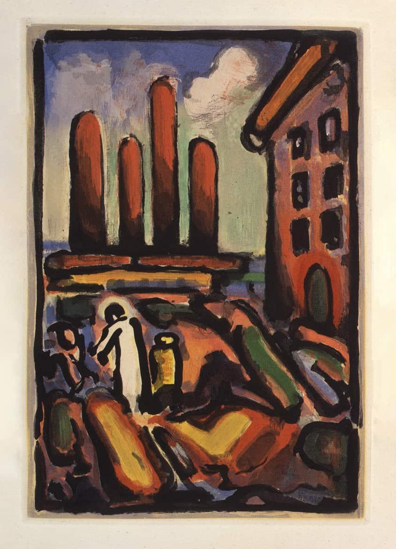 Passion : Christ au Faubourg, 1935