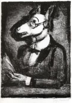 Grotesques : Aliboron, état définitif, 1927-1929