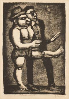 Grotesques : Au pas de parade, état5, 1927-1929