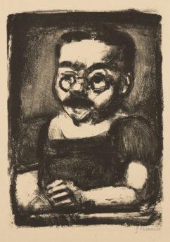 Grotesques : Citoyen Moche, état 2, 1927-1929