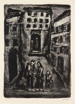 La petite banlieue – Faubourg des longues peines: Dans la rue, 1929