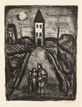 La petite banlieue– Faubourg des longues peines: La pauvre église, 1929