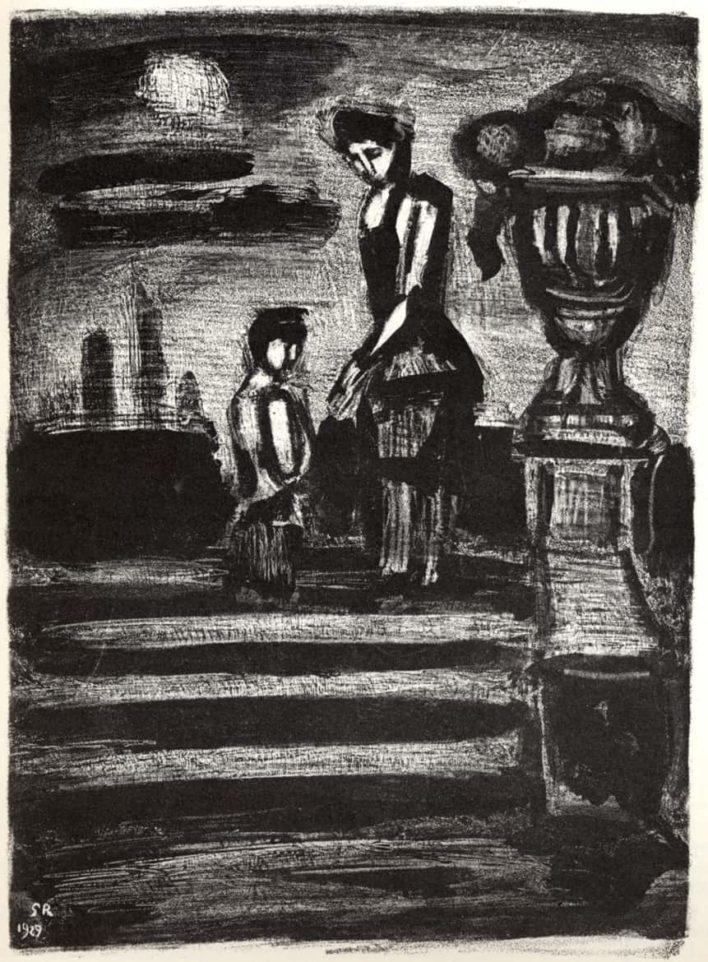 Paysages légendaires : Le Beau Dimanche, 1929