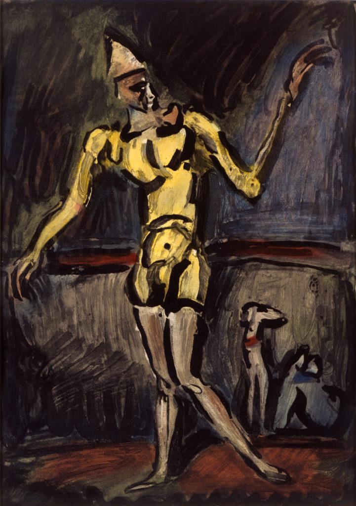 Cirque : Le Clown Jaune, 1930