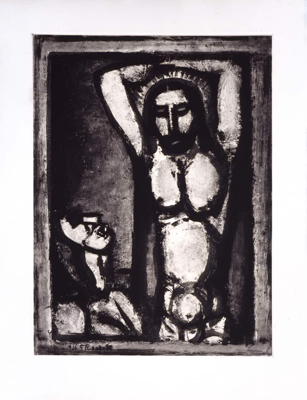 Les Fleurs du mal : Christ aux outrages, 1926