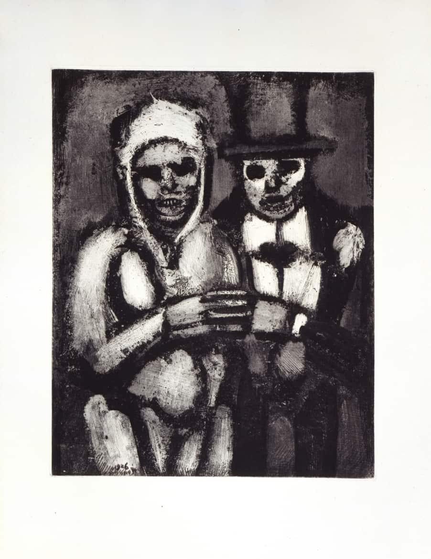 Les Fleurs du mal : La débauche et la mort, 1926