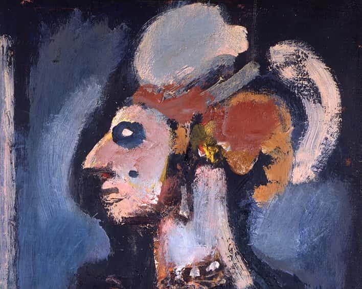 La loge, 1940, détail